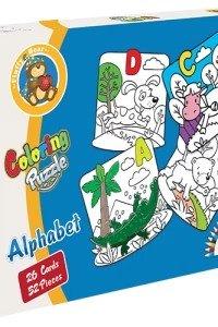 Coloring Puzzle - Alphabet
