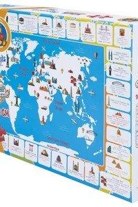 Jumbo Floor Puzzle Monuments  Map