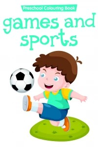 preschool colouring book..games and sports