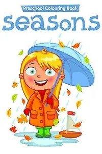 preschool colouring book..seasons