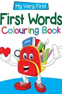 my very first.. first words  Colouring Book